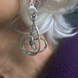 Asteroids earring