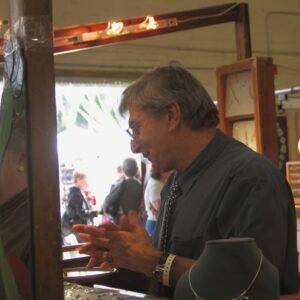 Jacques at Craft Fair