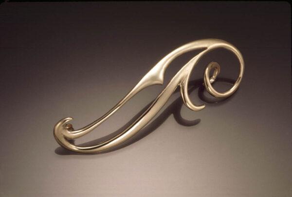 Arpeggio pin - Jewelry of Chardavogne