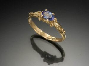 Ethel ring sapphire