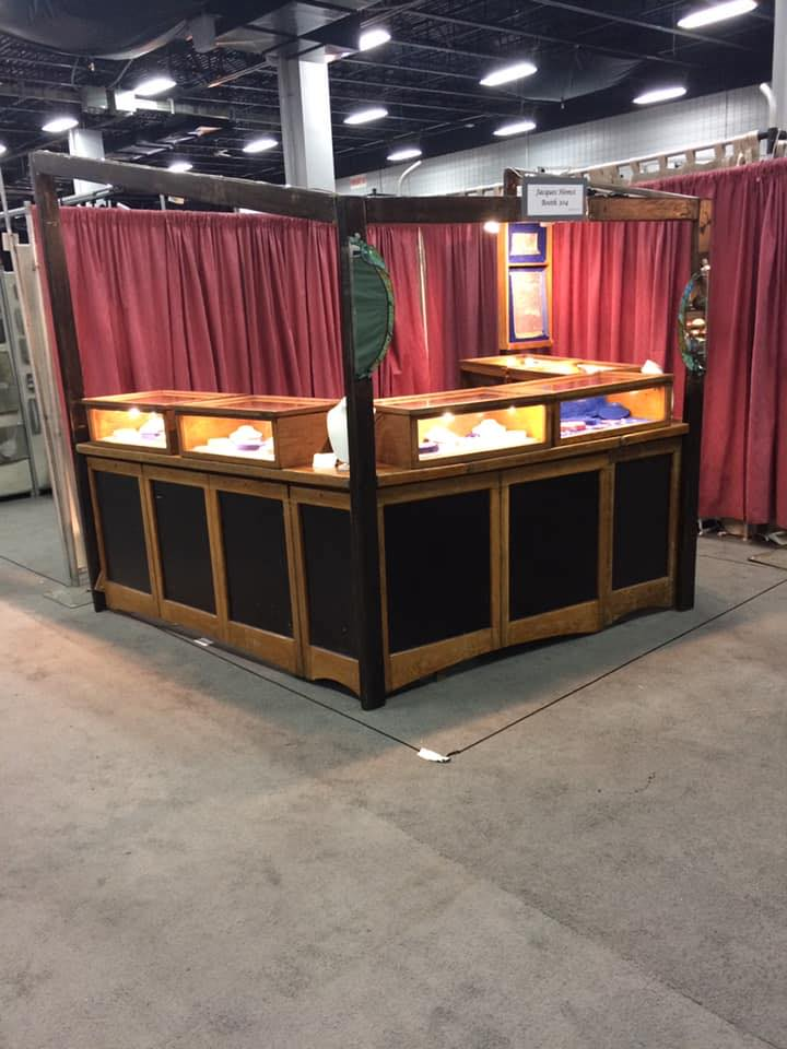 Jacques Hemsi Booth at Craft Fairs